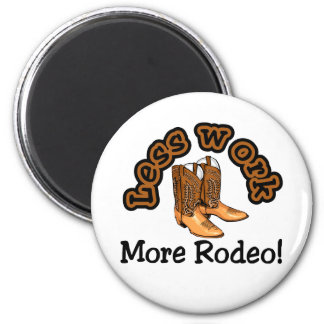 Rodeo T-shirts and Gifts. 6 Cm Round Magnet