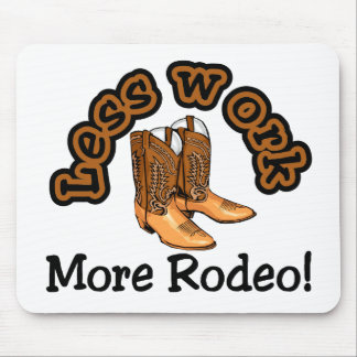 Rodeo T-shirts and Gifts. Mouse Mats
