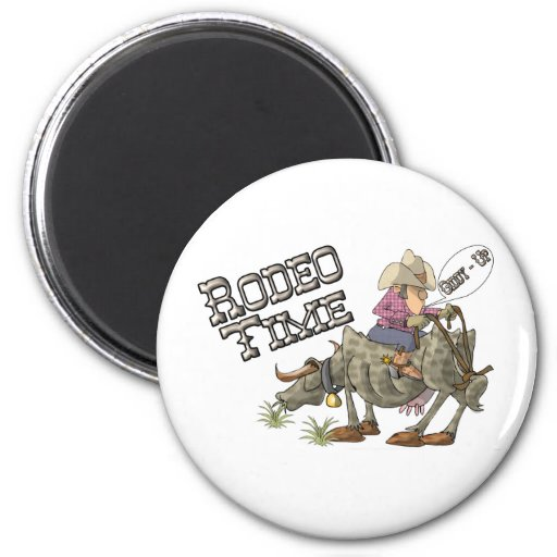 Rodeo Time Magnets