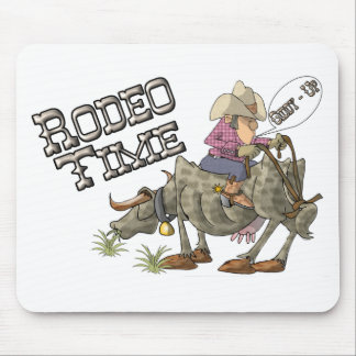 Rodeo Time Mousepads