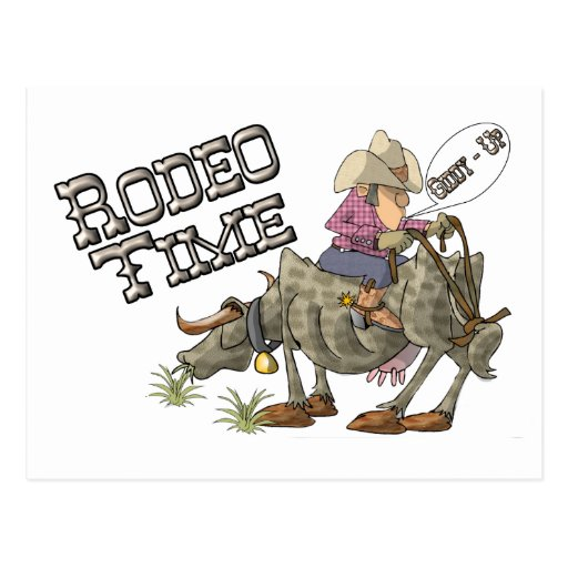 Rodeo Time Postcards