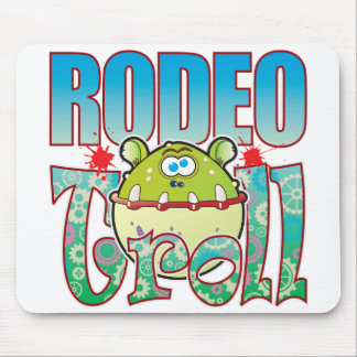 Rodeo Troll Mouse Pad