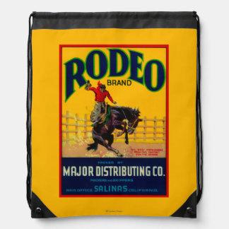 Rodeo Vegetable LabelSalinas, CA Backpack