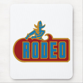 Rodeo - Western Cowboy Mouse Pad