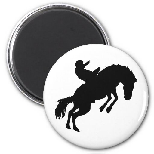 Rodeoreiter rodeo magnets