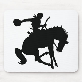 Rodeoreiter rodeo mouse pad