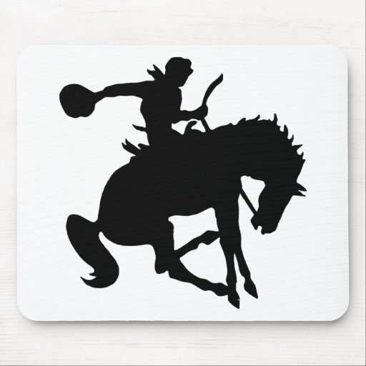 Rodeoreiter rodeo mouse pads