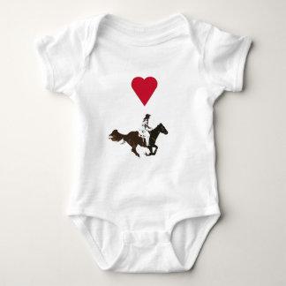rodeos baby bodysuit