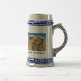 Rodesian Ridgeback Dog Art Stien Coffee Mug