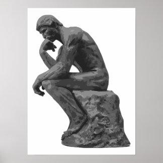 Rodin s Thinker Posters