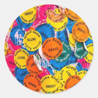 RodinPole.jpg Round Sticker