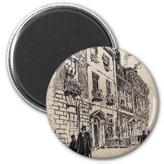 Rodney Place 6 Cm Round Magnet