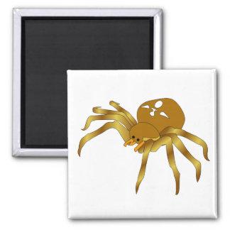 Rodney The Golden Spider Refrigerator Magnet