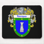 Rodriques Coat of Arms/Family Crest Mouse Pad