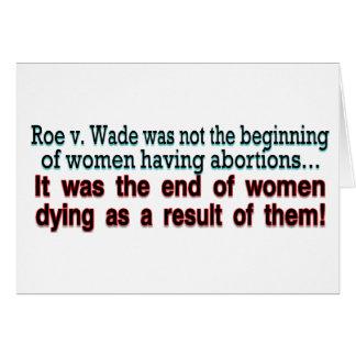 roe v. wade card