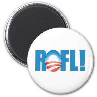 ROFL Anti Obama 6 Cm Round Magnet