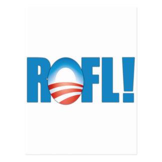 ROFL Anti Obama Postcard