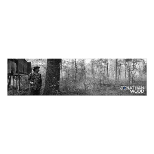 Roger and Father's Hunting Blind Photo Print