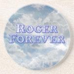Roger Forever - Basic Drink Coaster