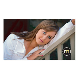 Roger Mathis Photography Business Card, Seniors