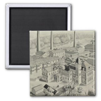 Rogers & Bro works Square Magnet
