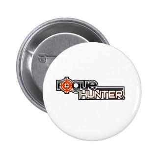 Rogue Hunter Button (Logo)