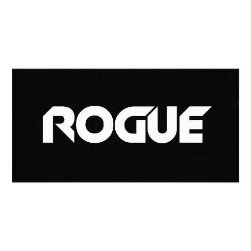 Rogue Personalized Photo Card