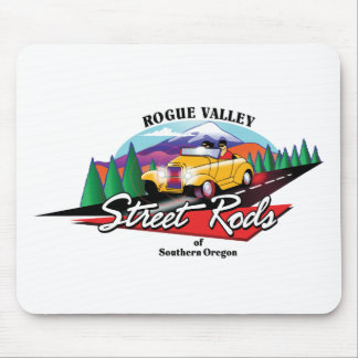 Rogue Valley Street Rods Custom Club Southern OR Mouse Mat