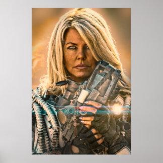 Rogue Warrior Sienna Alone Poster