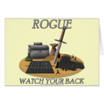Rogue: Watch Your Back Cards