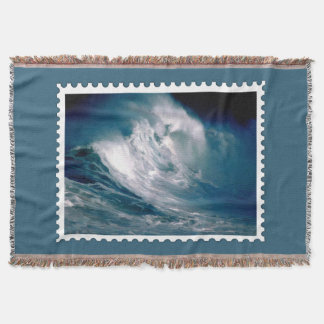 Rogue Wave in the Middle of the Ocean Stamp