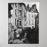 Rohan courtyard, Paris, 1858-78 Poster