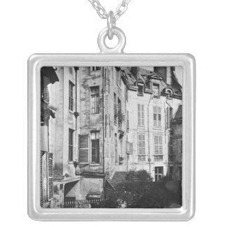 Rohan courtyard, Paris, 1858-78 Silver Plated Necklace