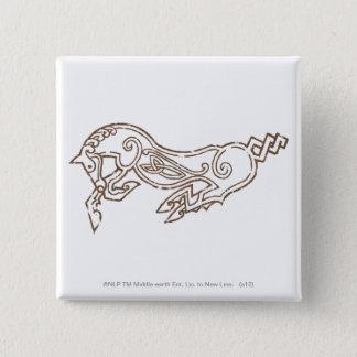 Rohan Symbol 15 Cm Square Badge