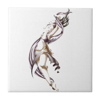 Rohesia Dancer Small Square Tile