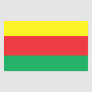 Rojava Kurdistan Flag Sticker