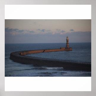 Roker Pier Sunderland Print