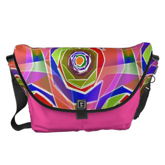 ROKIN Funky Abstract Art Bag! #1 Courier Bags