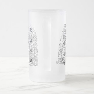 Rokstenen, Rok Runestone with Thurisaz Beer Mugs