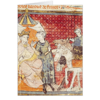 Roland Bidding Farewell to Charlemagne Card