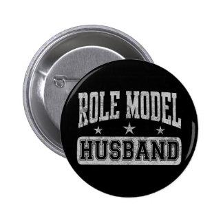 Role Model Husband 6 Cm Round Badge