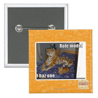 Role Model, I haz one 15 Cm Square Badge