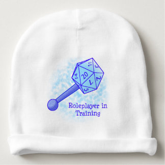 Roleplayer in Training Blue Beanie Baby Beanie