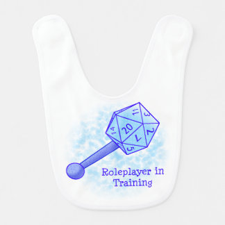 Roleplayer in Training Blue Bib