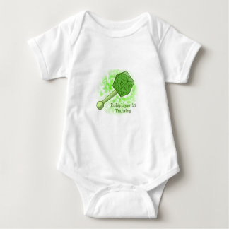 Roleplayer in Training Green Baby Bodysuit