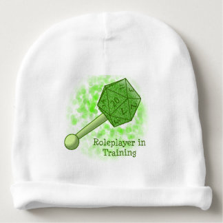Roleplayer in Training Green Beanie Baby Beanie