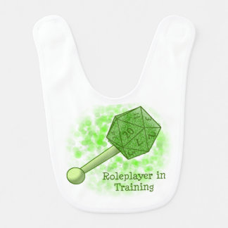 Roleplayer in Training Green Bib