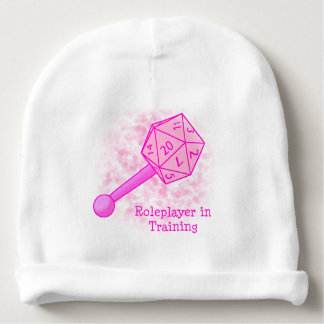 Roleplayer in Training Pink Beanie Baby Beanie