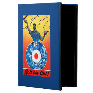 Roll 'em Out Royal Canadian Air Force Case For iPad Air