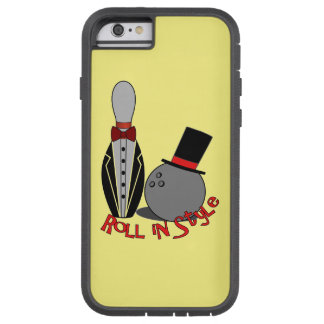 Roll in Style - Unusual Bowling Gifts Tough Xtreme iPhone 6 Case